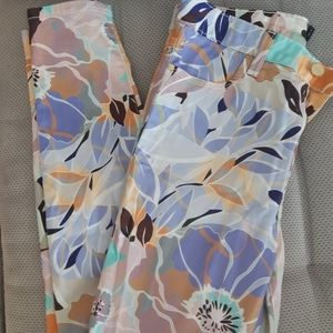 Floral Marciano Pants